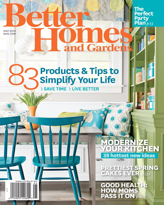 Better Homes And Gardens   May 2014 | Tineke Triggs | Artistic Designs For  Living